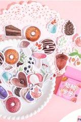 kawaii Planner Paper Label Sticker Box - Sweets Box