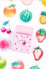 Lovely Planner Paper Label Sticker Box - fruit candy box
