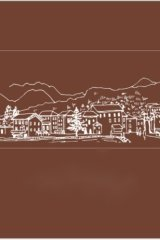 Stationery Planner Wooden Rubber Stamp - Dream City - Dreamy Italy