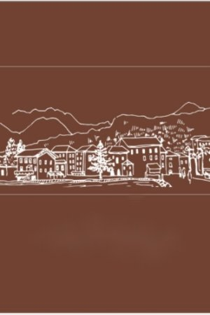 Photo1: Stationery Planner Wooden Rubber Stamp - Dream City - Dreamy Italy