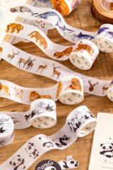 Kawaii Paper Bujo Planner Masking Tape - animals