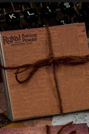Photo1: DIY Supplies Paper Materials - old newspaper - Roma