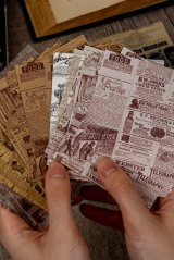 DIY Supplies Paper Materials - old newspaper - grocery store