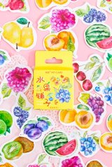 Lovely Planner Paper Label Sticker Box - fruits shop