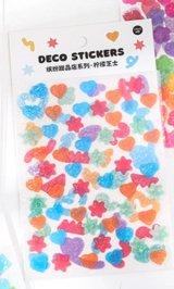Kawaii Glitter Journal Planner Stickers Set - sweets shop - Lemon cheese