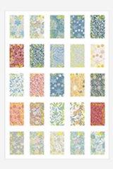 Planner Bujo Journal DIY sticker set - Gilded Vintage Stamp - William Morris  4 sheets