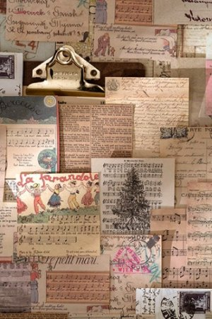 Photo1: Kawaii Paper Stationery Memo Notes - vintage style - time 收录岁月