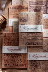 Vintage Style DIY Supplies Deco Glassing Paper Materials Pack - Fragments