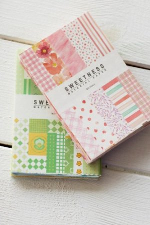 Photo2: Korean Style DIY Decor Paper Materials Pack - sweet supplies - blueberry