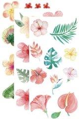 Kawaii Insta Diary Bujo Planner Sticker Set - colorful flowers