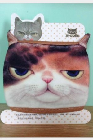 Photo1: Kawaii Outdoor Indoor Cotton Face Mask Mouth Protection - cat one