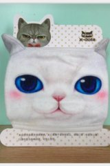 Kawaii Outdoor Indoor Cotton Face Mask Mouth Protection - cat five