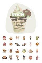 Kawaii Planner Sticker Sack Flake - Gourmet - Summer Ice