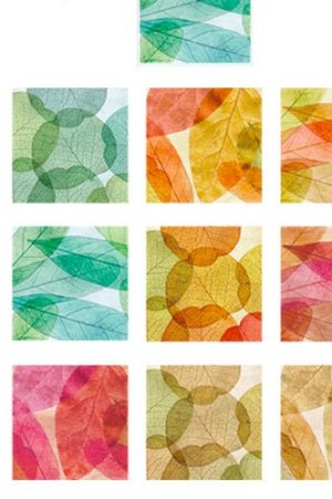 Photo2: DIY Craft Decor Planner Paper Materials Pack - Lucky Days - Leaves