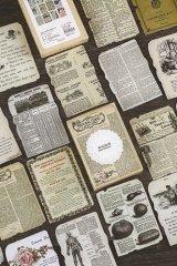 VintageStyle Planner Sticker Sack - art - book memory