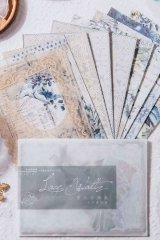 DIY Craft Decor Planner Paper Materials Pack - Lace waltz - fairy tale