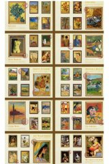 Paper Planner Sticker Book - romantic colorful painting - Rising Sun