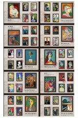 Paper Planner Sticker Book - romantic colorful painting - Impressionism color