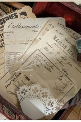 DIY Supplies Vintage Style Planner Diary Paper Materials   - Book Collection - time