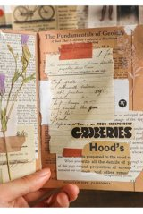 DIY Supplies Vintage Style Planner Diary Paper Materials   - Book Collection - Mail