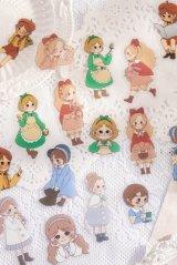 Kawaii DIY Planner Sticker Sack - Lace Girl