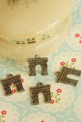 SALE-Antique Style Bronze Charms - Department Triumphant Return