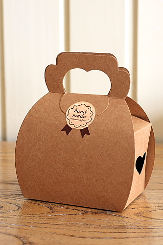 Kraft Paper Diy Gift Wrapping Box 5 Boxes