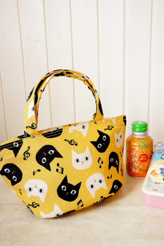 Free Shipping Cute Handmade Original Insulated Lunch Bag Tote